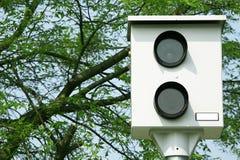Commande de caméra de vitesse sur la route Photographie stock libre de droits