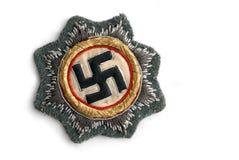 Commande de croix allemande en or (étoile est) Photographie stock libre de droits