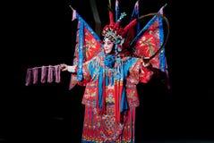 Commande de la MU Guiying d'opéra de Pékin Image libre de droits