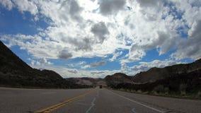 Commande de POV au canyon de neige en Utah clips vidéos