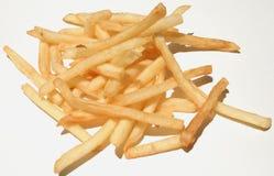 Commande des pommes frites Images stock