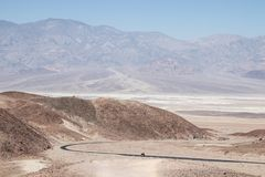 Commande du ` s d'artiste, en parc national de Death Valley,  la Californie, Uni image stock