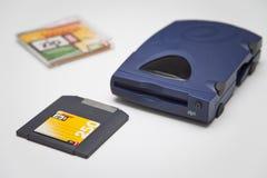 Commande et disque de la fermeture éclair 250 d'Iomega Photo stock