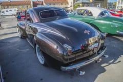 1941 commande liquide de Chrysler de 2 portes Image libre de droits