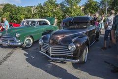1941 commande liquide de Chrysler de 2 portes Photos libres de droits