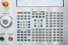 Commande numérique par ordinateur de panneau de commande Photo stock
