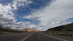 Commande par le canyon de neige en Utah clips vidéos