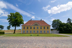 The Commanders House, Copenhagen. Ancient fortification of Kastellet, Copenhagen,The Commanders House Royalty Free Stock Photography