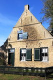 Commanders house in Hollum, Island of Ameland royalty free stock photo