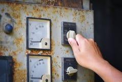 Commandez la dynamo électrique de générateur photos libres de droits