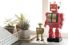 Commandez le concept robotique de la Science d'objet en métal d'instrument de robot photographie stock libre de droits
