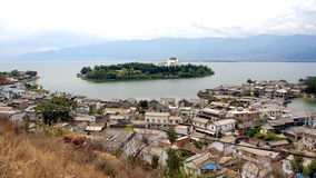 Commanding   2. The east river, lijiang dayan ancient city Royalty Free Stock Image