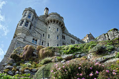 Commanding View ~ St Michael's Mount Royalty Free Stock Photo