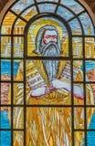 commandments moses tio Lagen fallen för Moses på Sinai arkivbilder