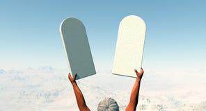 10 commandments Royalty Free Stock Photos