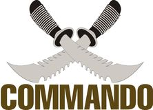 Commando Royalty Free Stock Photography