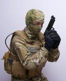 Commando Photographie stock libre de droits