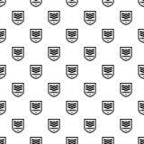 Commando badge pattern seamless vector. Repeat geometric for any web design vector illustration