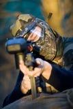 Commando di Paintball Fotografia Stock Libera da Diritti