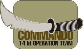 Commando knife Royalty Free Stock Image