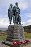 Commando Memorial Stock Photo
