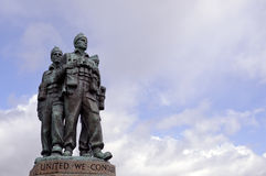 Commando Memorial Royalty Free Stock Photography