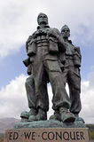 Commando Memorial Royalty Free Stock Photos