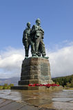 Commando Memorial Stock Image
