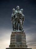 Commando memorial. The WW2 commando memorial near to Fort William, Scotland Stock Photography