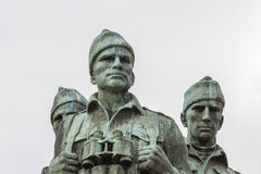 Free Commando Memorial At Spean Bridge In Scotland. Royalty Free Stock Photos - 87860708