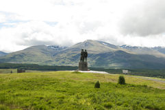 Commando Memorial, Highlands - Scotland Stock Image