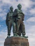 Commando Memorial In Spean Bridge Scotland Stock Photo