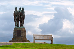 Commando Memorial, Scotland Royalty Free Stock Photography