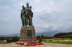 Commando Memorial, Scotland. The Royal Marines Association Royalty Free Stock Image