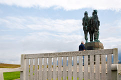 Commando Memorial, Scotland Royalty Free Stock Photos