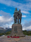Commando Memorial in Spean Bridge Scotland Royalty Free Stock Photos