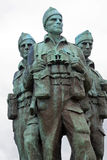 Commando Memorial, Spean Bridge, Scotland stock photo