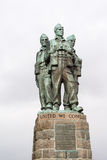Commando memorial Royalty Free Stock Images
