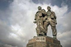Commando memorials Royalty Free Stock Photos