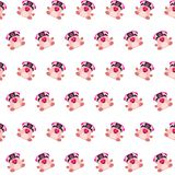 Commando piggy - sticker pattern 12. Pattern of a sticker commando piggy that can be used as a background, texture, prints or something else vector illustration
