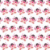 Commando piggy - sticker pattern 15. Pattern of a sticker commando piggy that can be used as a background, texture, prints or something else vector illustration