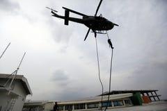 Commando raid drills Stock Photography