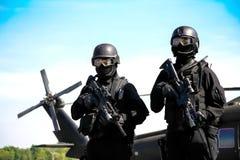 Commando ready Stock Photography