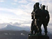 Commandogedenkteken royalty-vrije stock foto