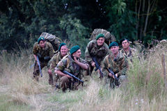 Commandos planning Royalty Free Stock Images