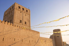 Comme château de Suwayq Photographie stock libre de droits