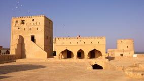 Comme château de Suwayq Images stock