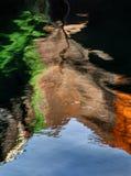 Comme le pétrole et l'eau Images stock