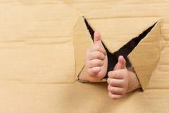 Comme le signe de mains Images libres de droits