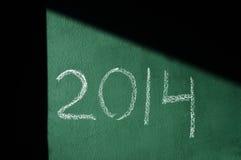 2014, comme nouvelle année Photo stock